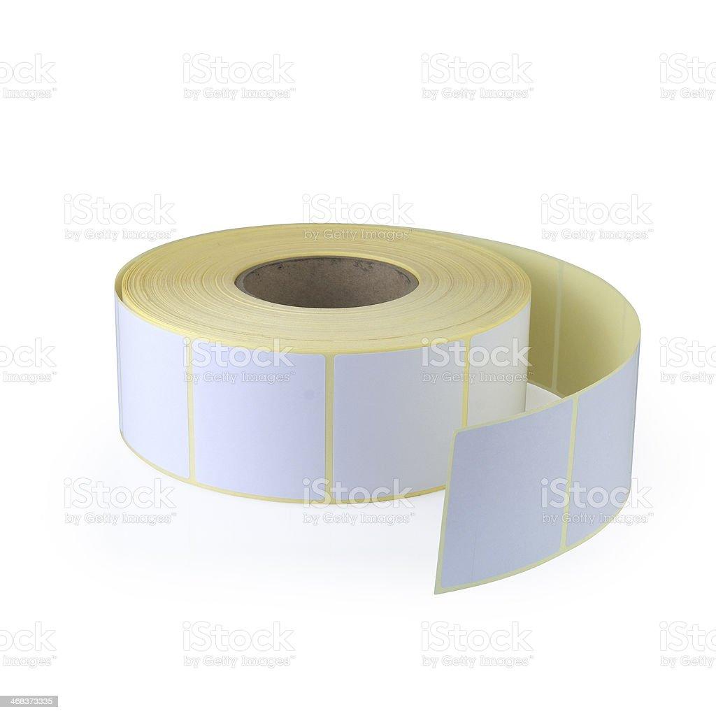 Sticky label stock photo