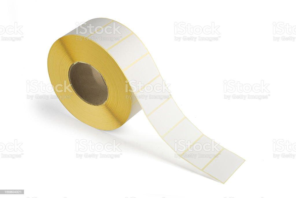 Sticky labels royalty-free stock photo