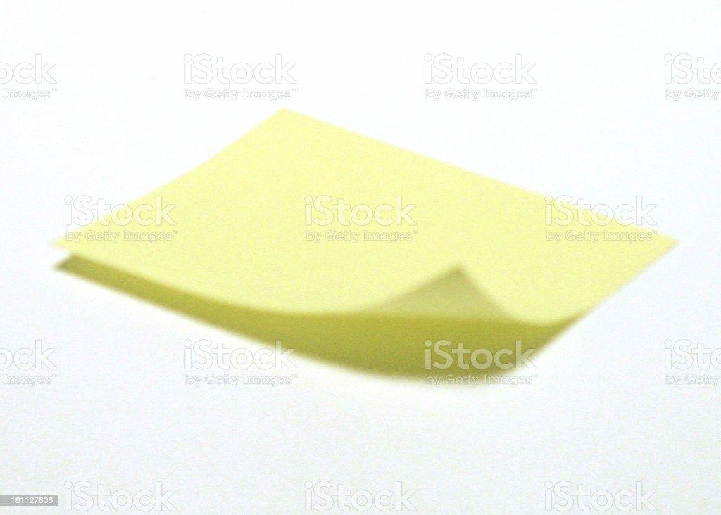sticky note 2 royalty-free stock photo