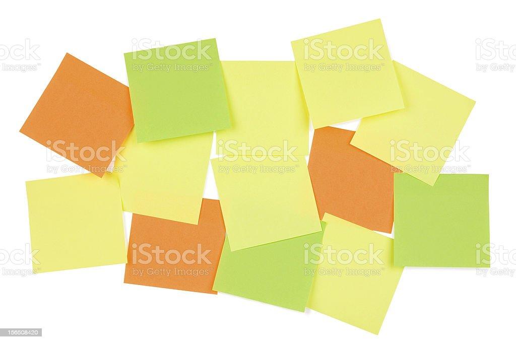Sticky note background royalty-free stock photo