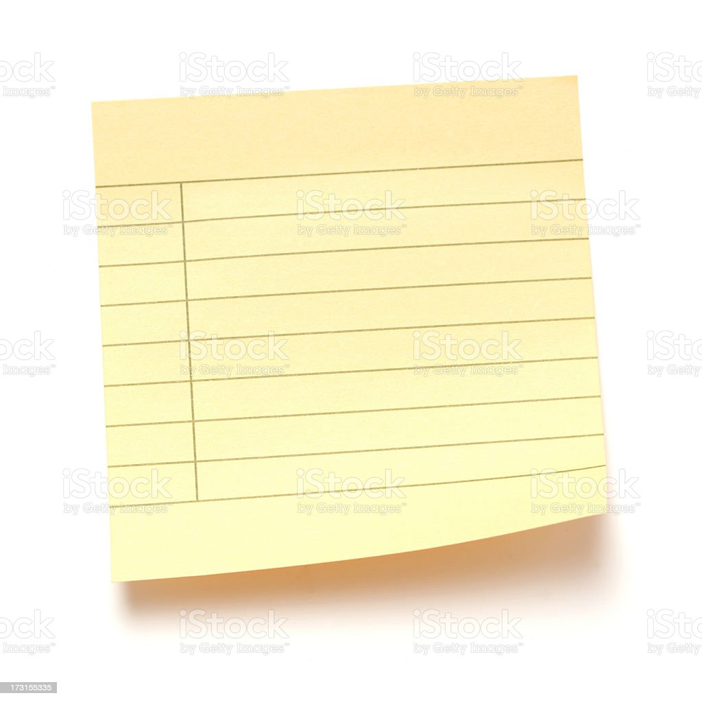 Sticky note paper textured background royalty-free stock photo
