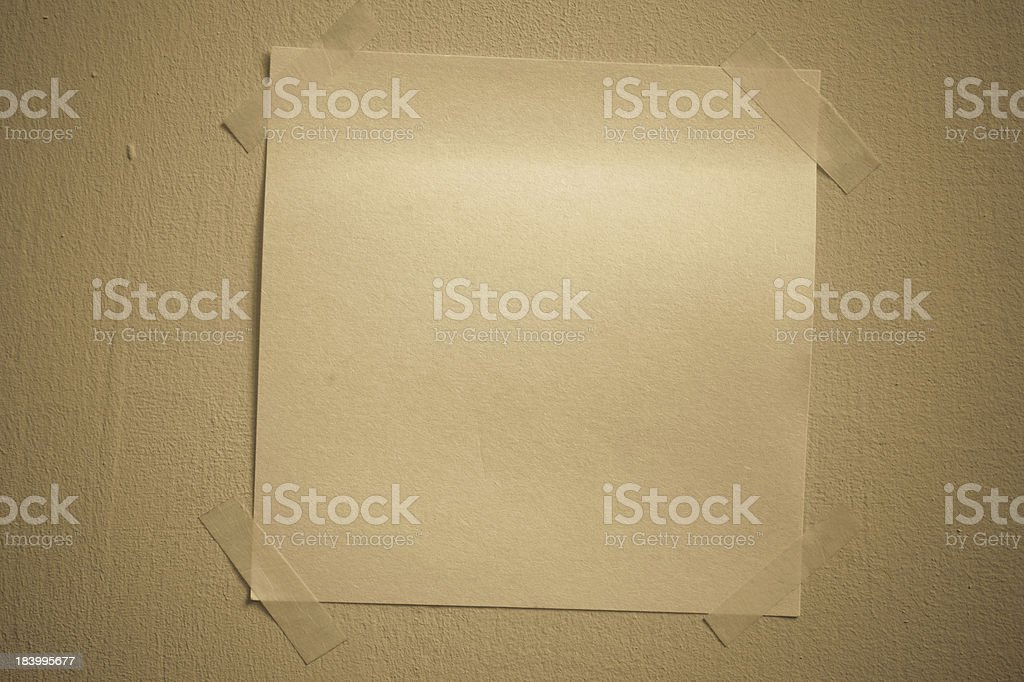 Sticky note royalty-free stock photo