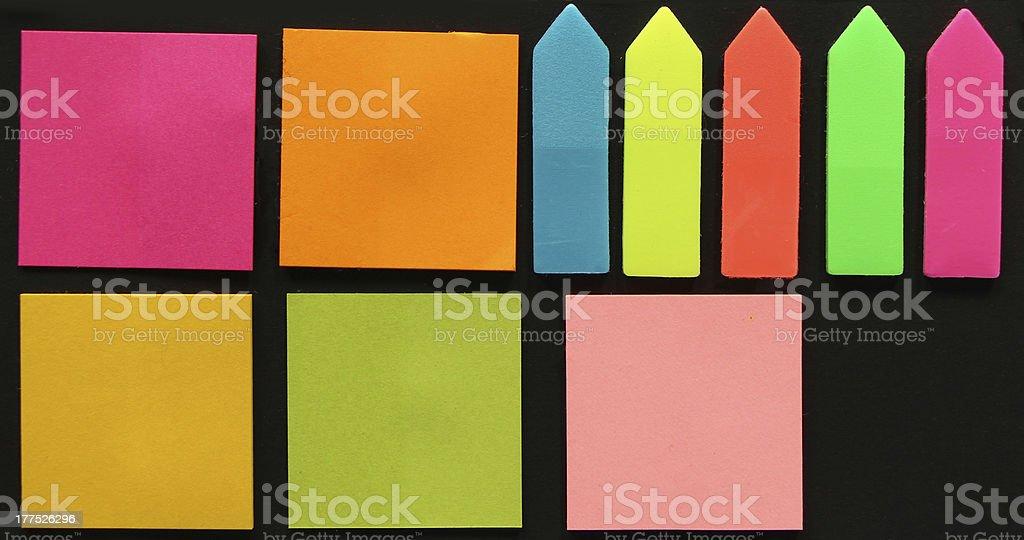 Sticky Notes royalty-free stock photo