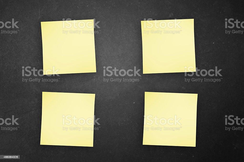 Sticky Notes! stock photo
