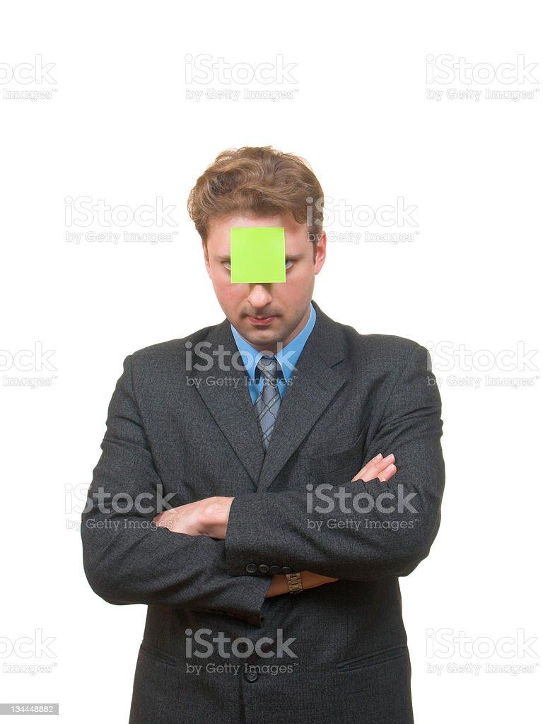 Sticky stock photo