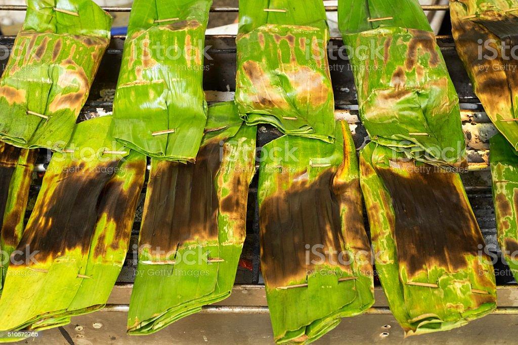 Sticky rice stock photo