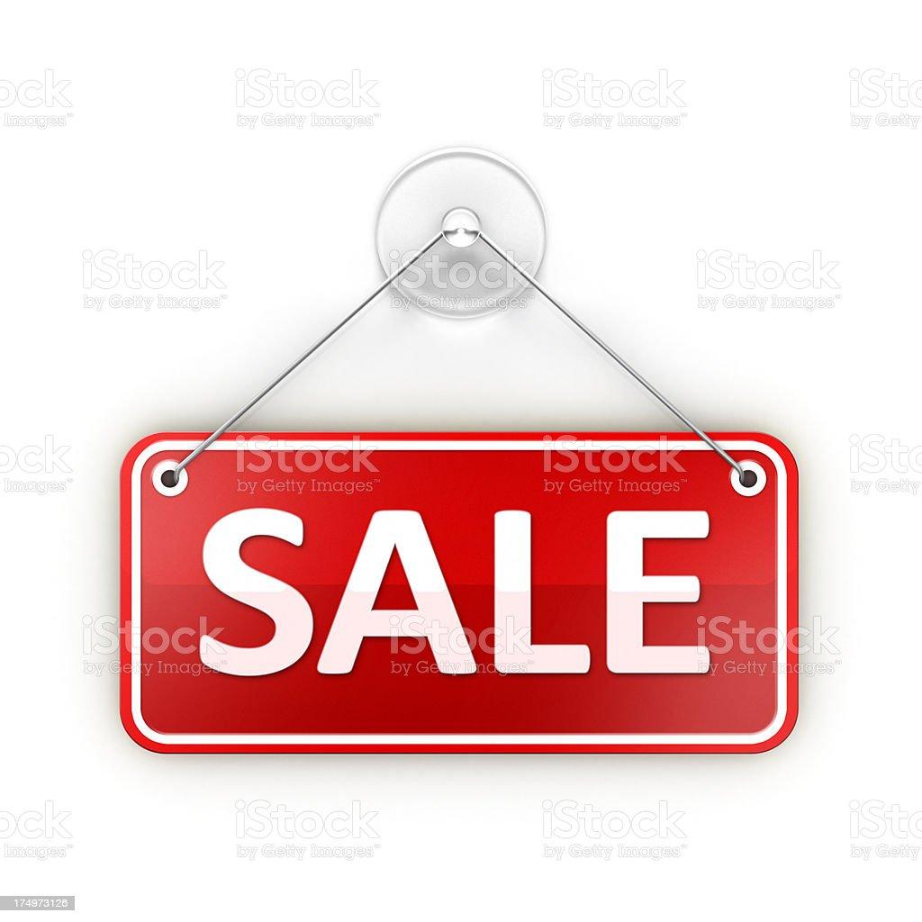 Sticky Sale sign stock photo