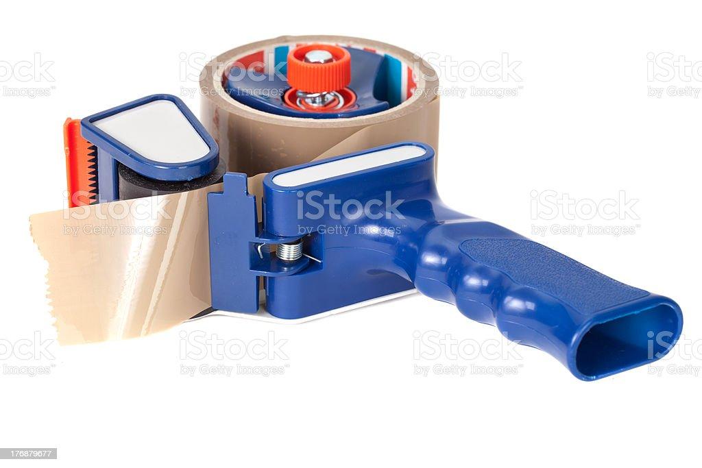 sticky tape dispensr royalty-free stock photo
