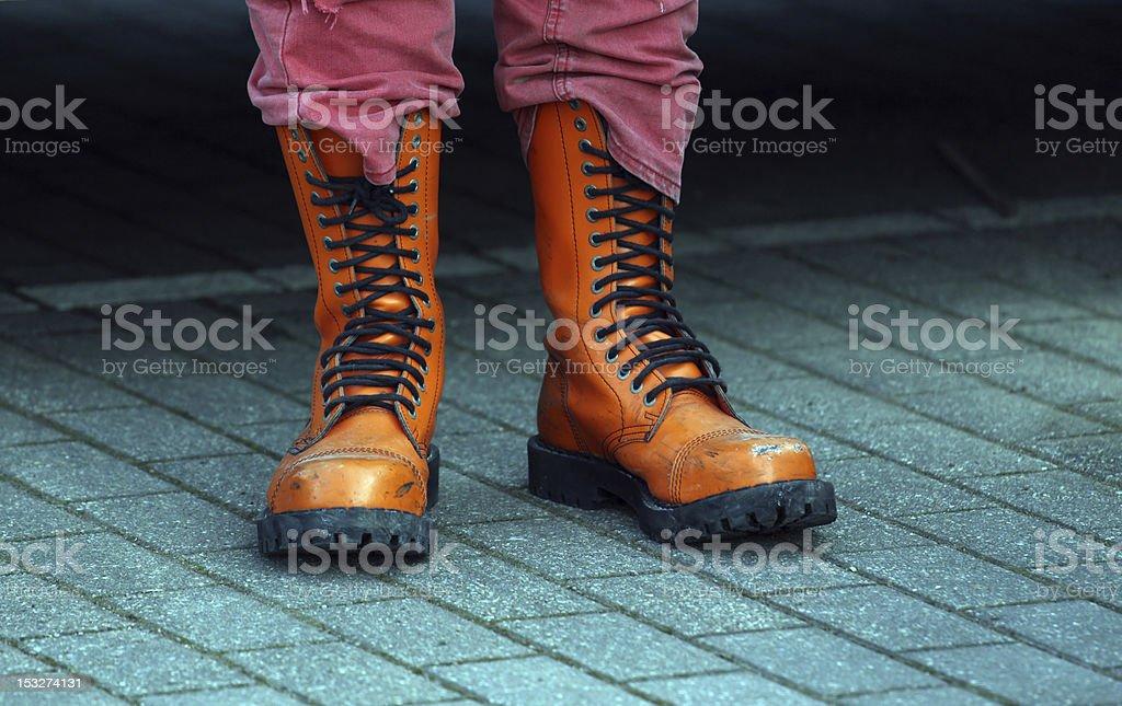 Stiefel stock photo