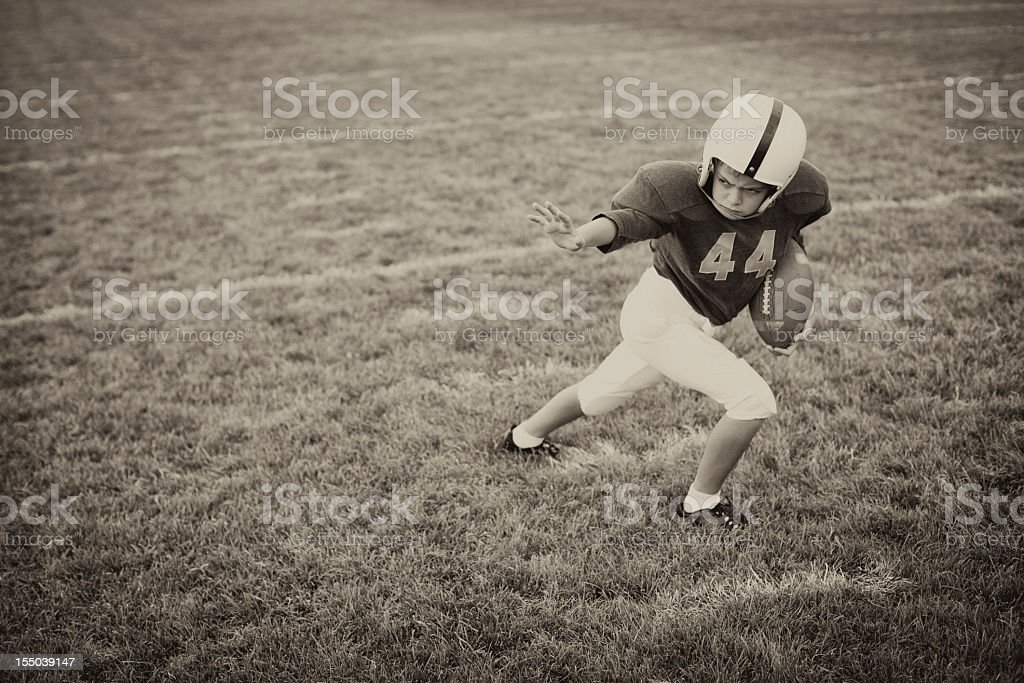 Stiff Arm royalty-free stock photo