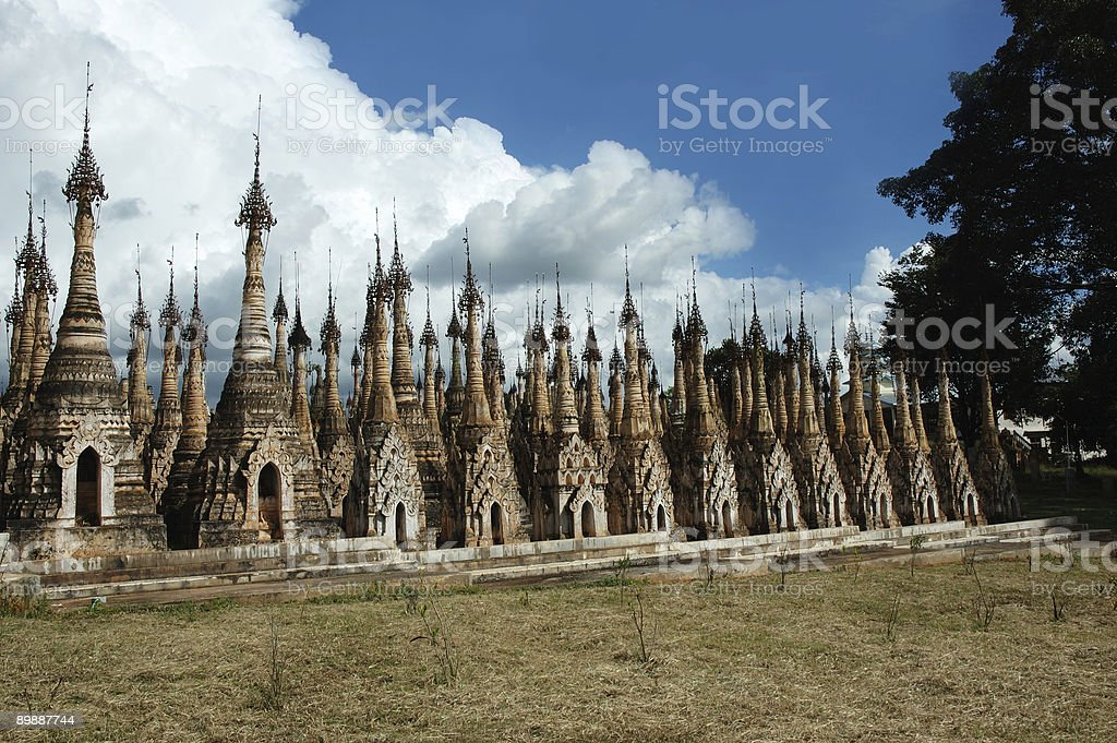 kaku, myanmar royalty-free stock photo