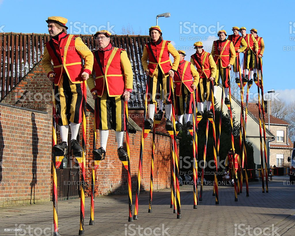 Stilit Walkers stock photo