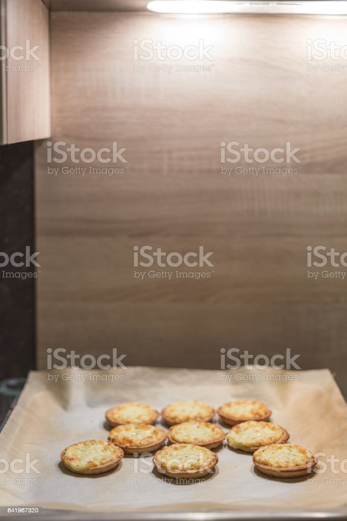 Still hot from the oven stock photo