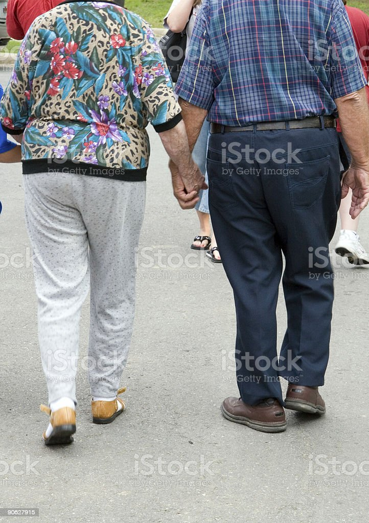Still in Love After All These Years royalty-free stock photo