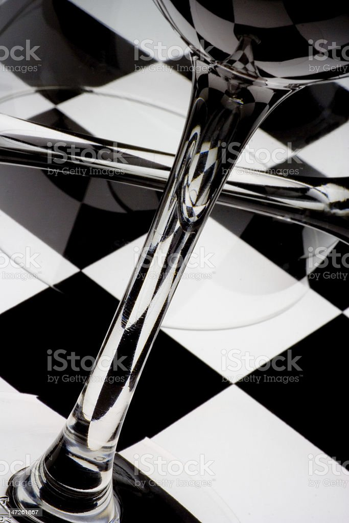 Still Life Abstraction - Under The Influence stock photo