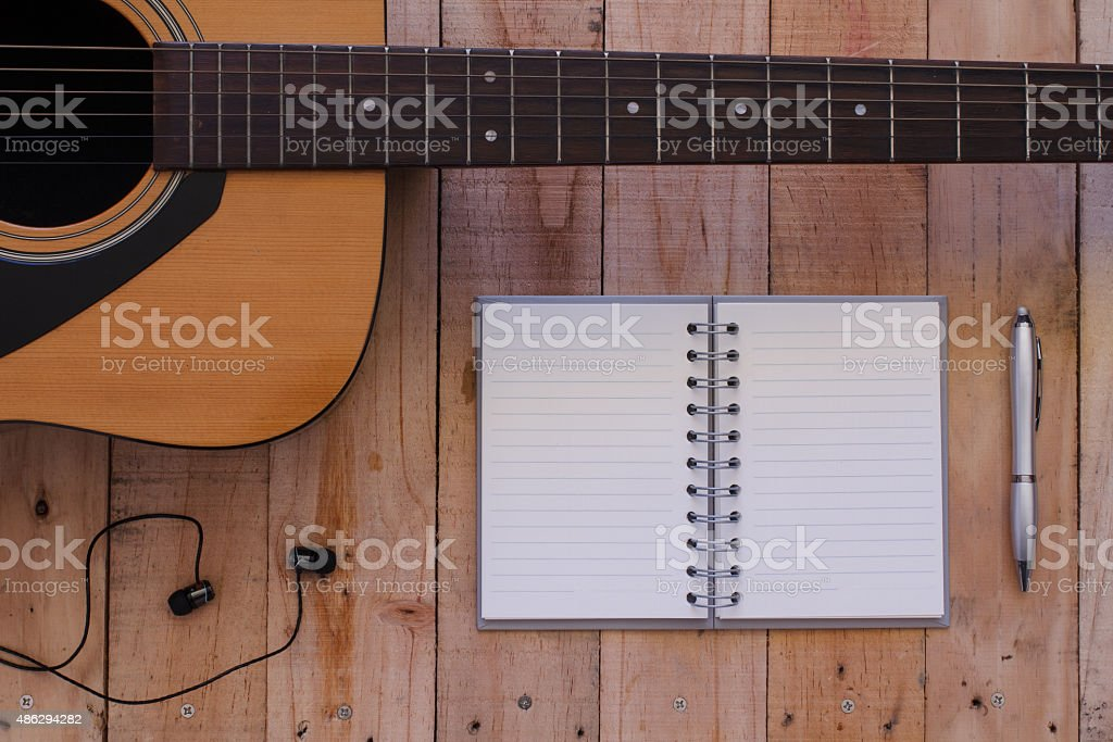 Still life art photography music and memories concept stock photo
