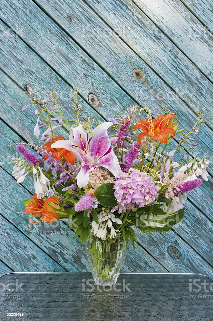 still life bouquet royalty-free stock photo