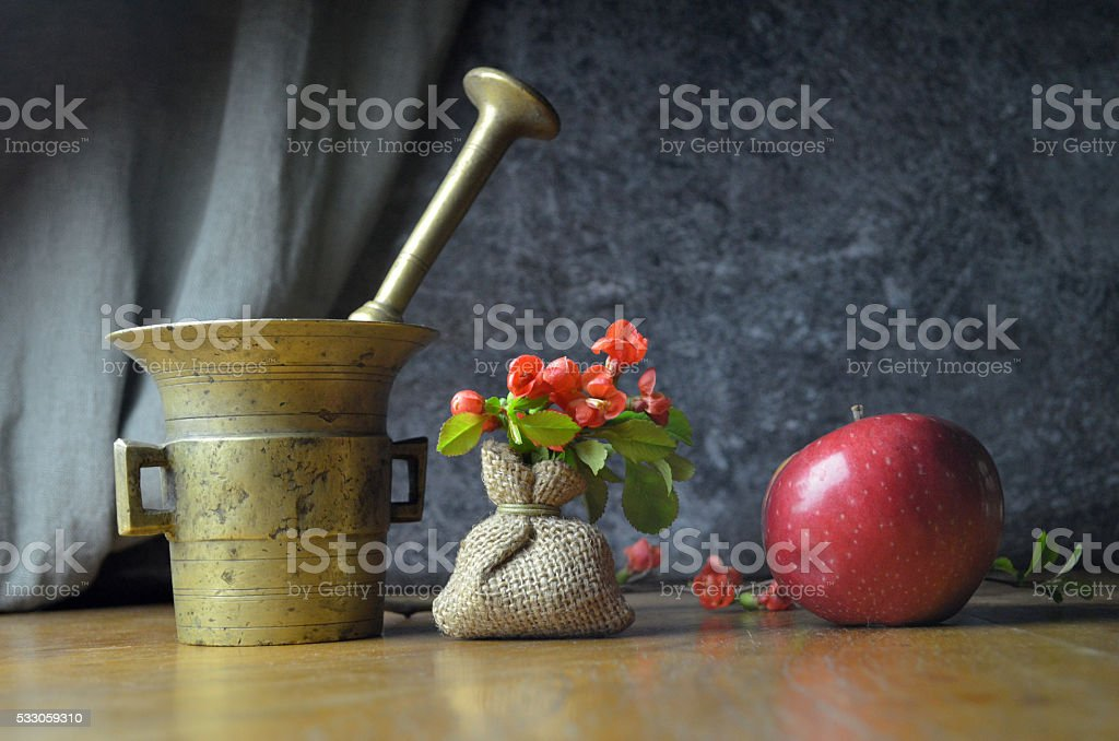 Still life composition stock photo