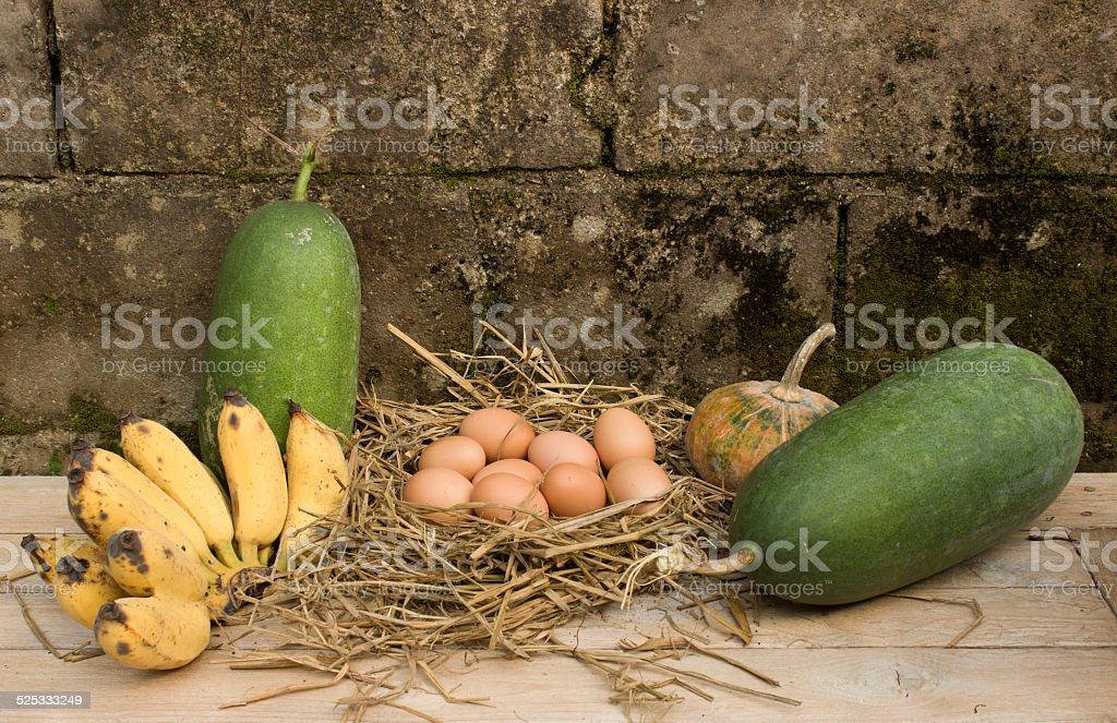 still life countryside food stock photo