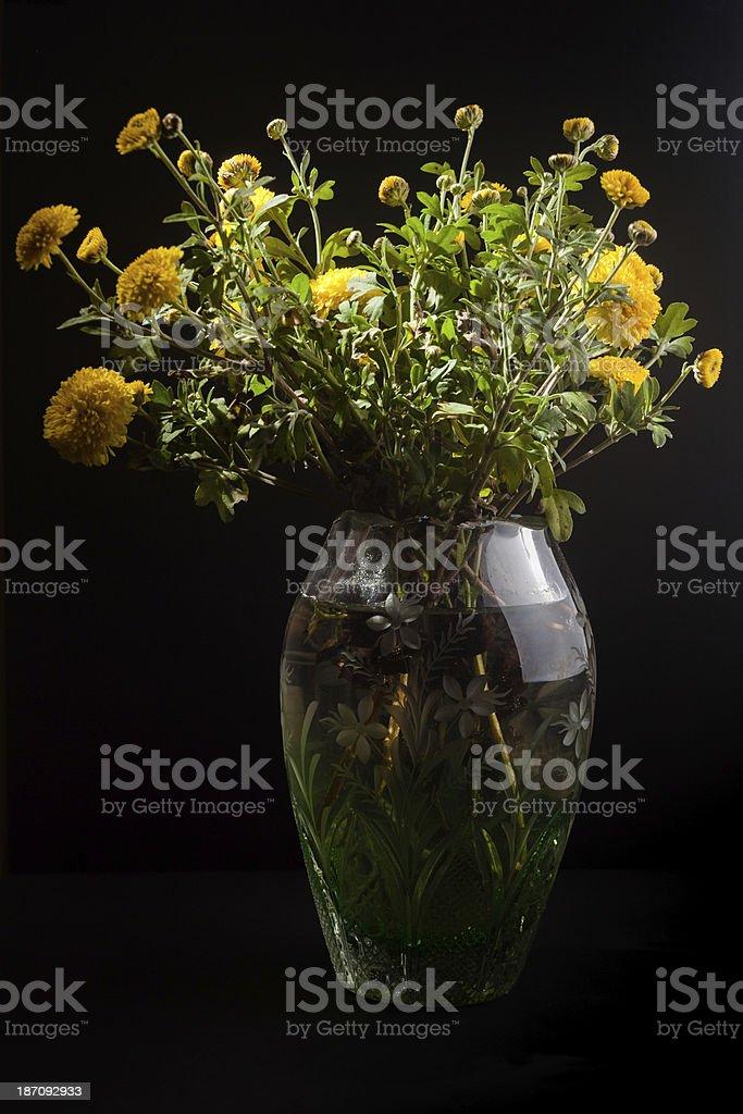 still life flowers stock photo