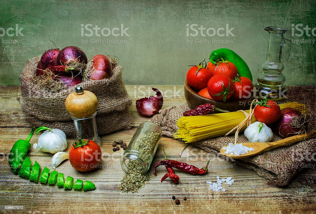 Still life food stock photo