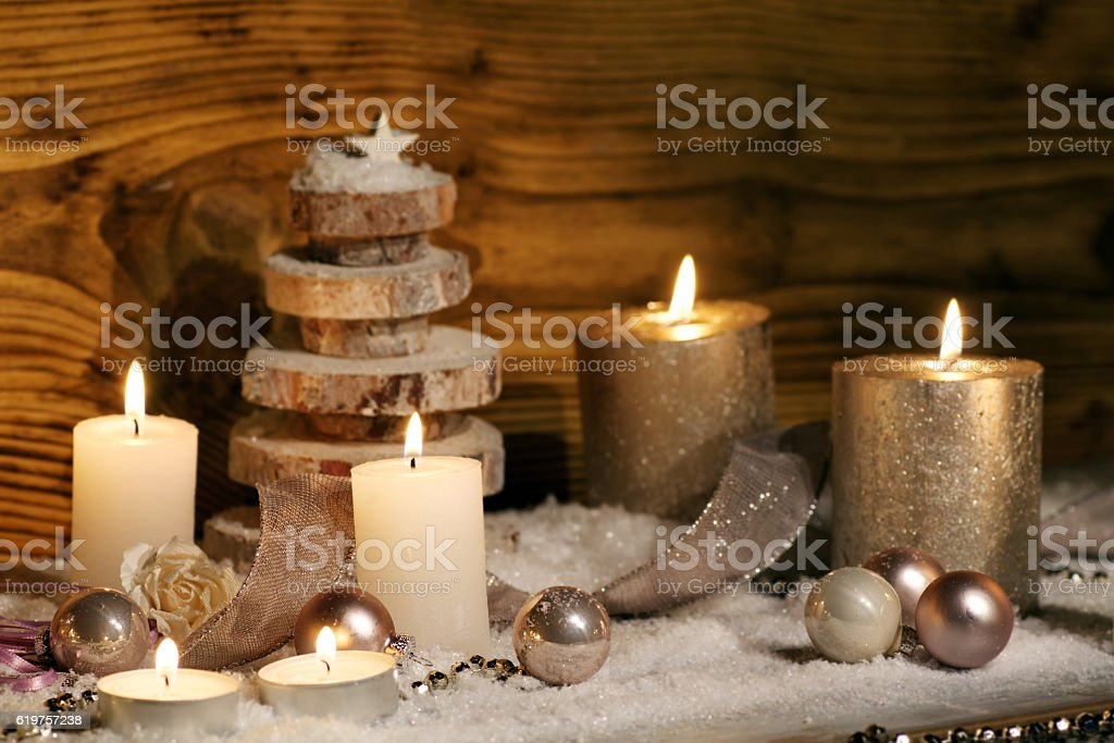 Still life for christmas time stock photo