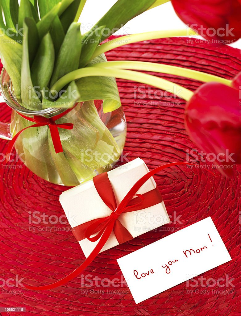 Still life for mothers day royalty-free stock photo