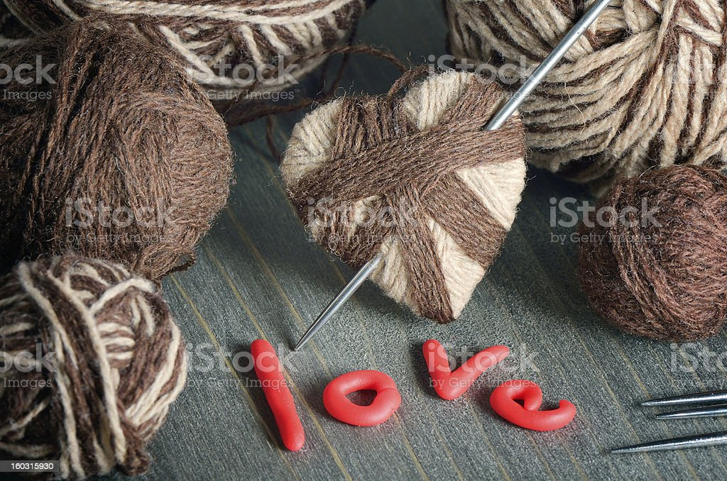 Still life for Valentine's Day royalty-free stock photo