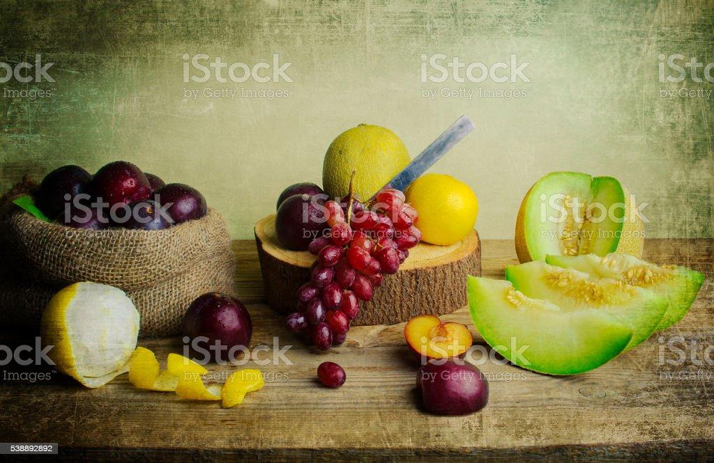 Still Life Fruit stock photo