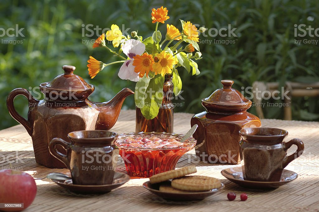 still life in warm colors royalty-free stock photo