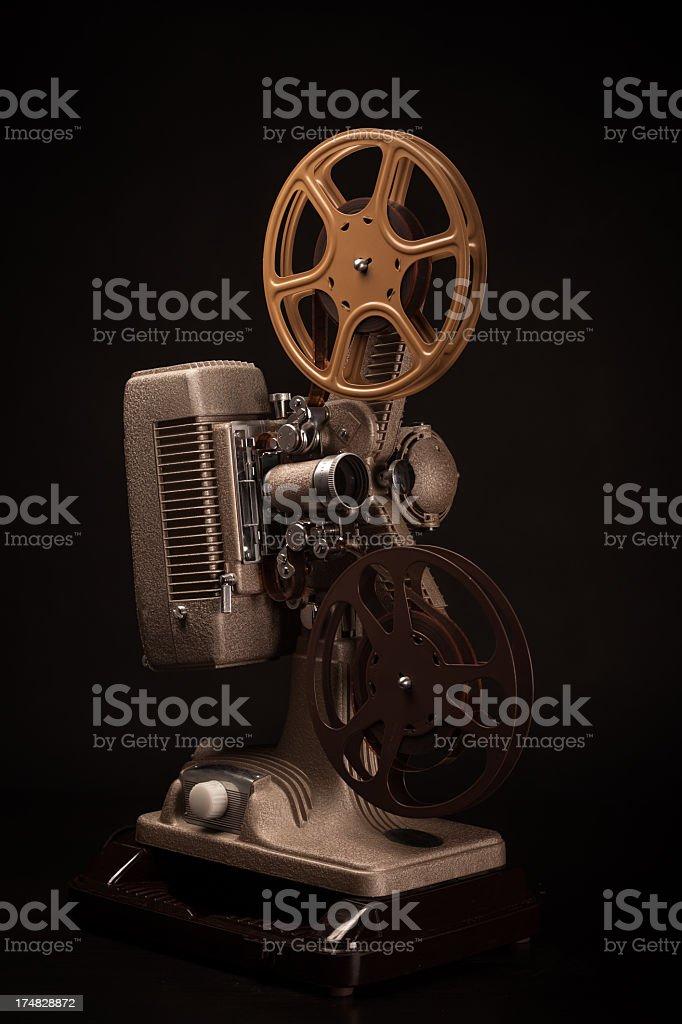 Still Life of 16mm Film Projector stock photo