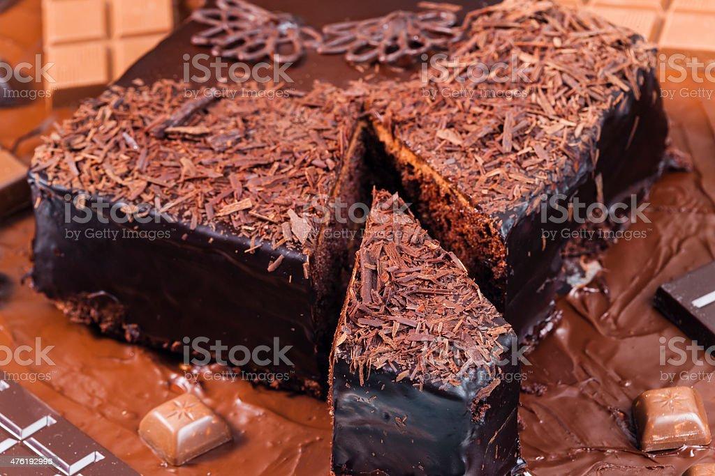 still life of chocolate stock photo