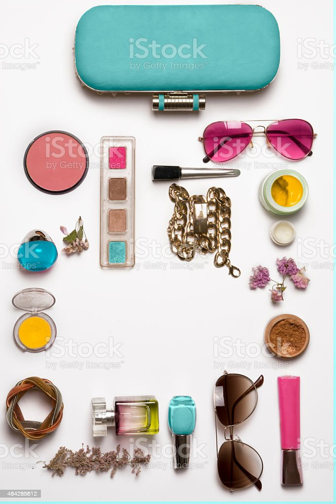 Still life of fashion woman stock photo