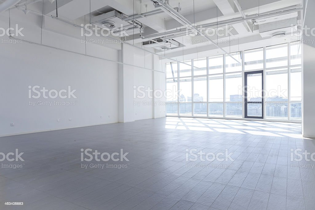 Still life of modern empty office space stock photo
