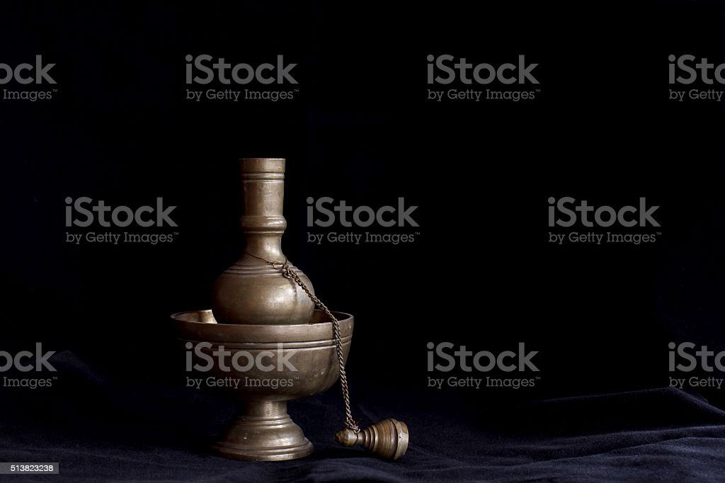 Still life photography by small contrainer stock photo
