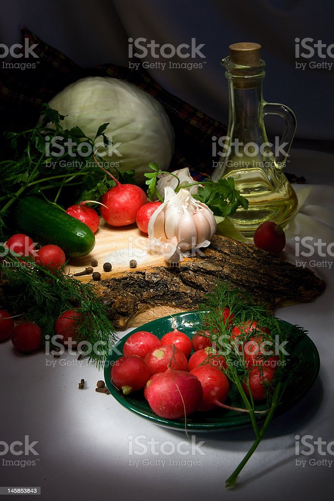 Still Life vegetarian food royalty-free stock photo