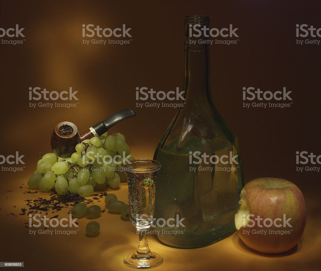 Still Life With Apple royalty-free stock photo