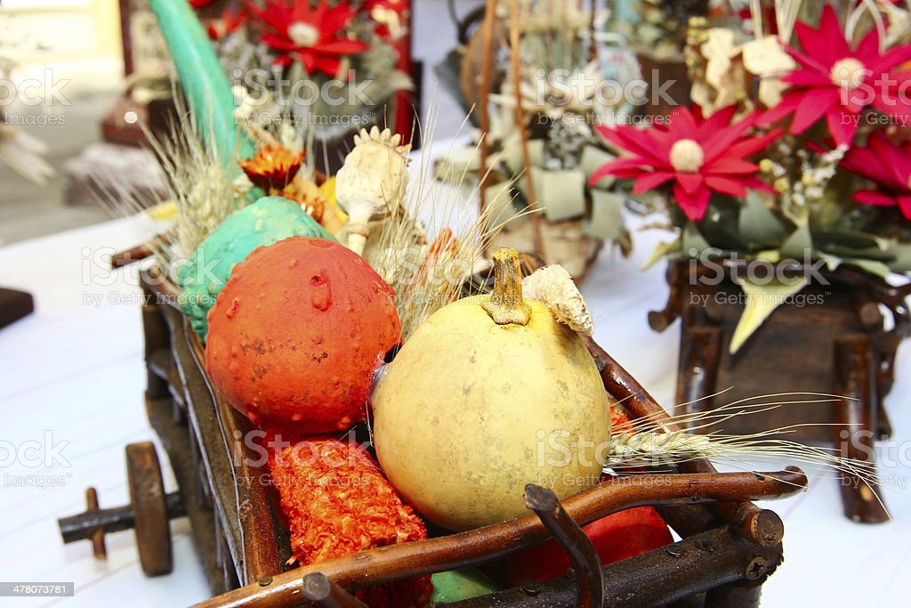 Still life with autumn goods royalty-free stock photo
