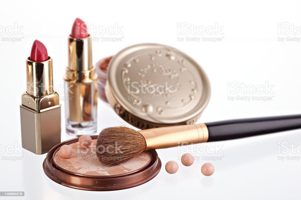 still life with cosmetics royalty-free stock photo
