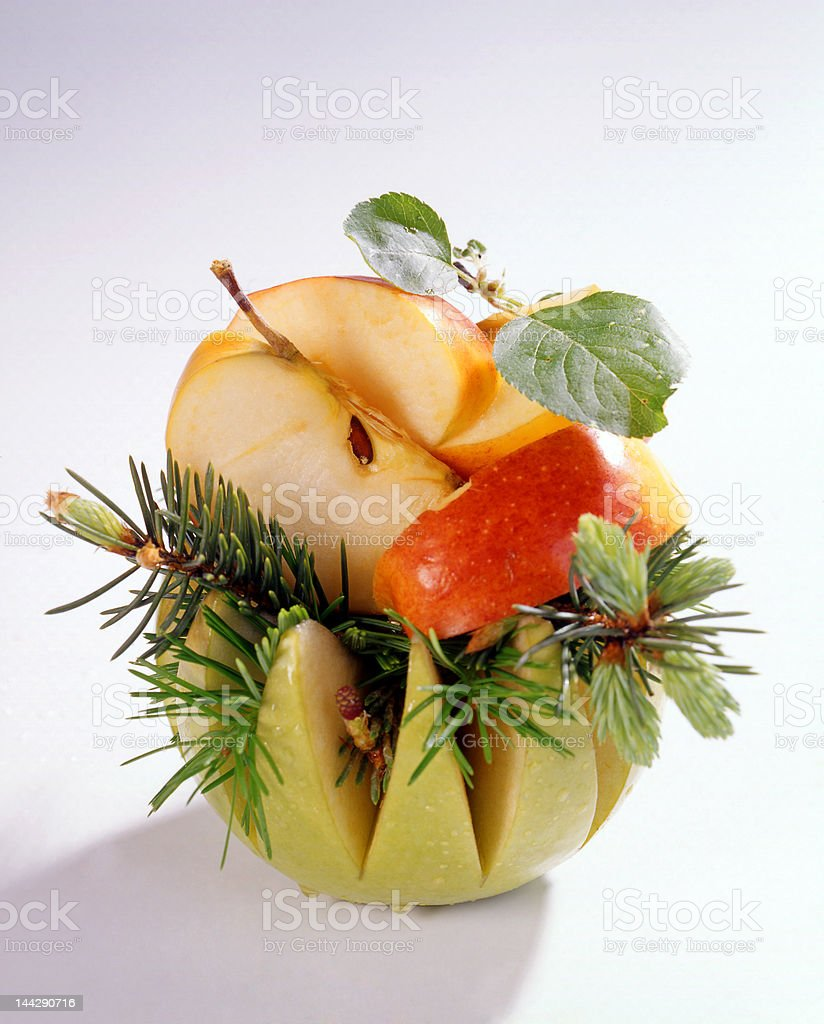 still life with fruits royalty-free stock photo