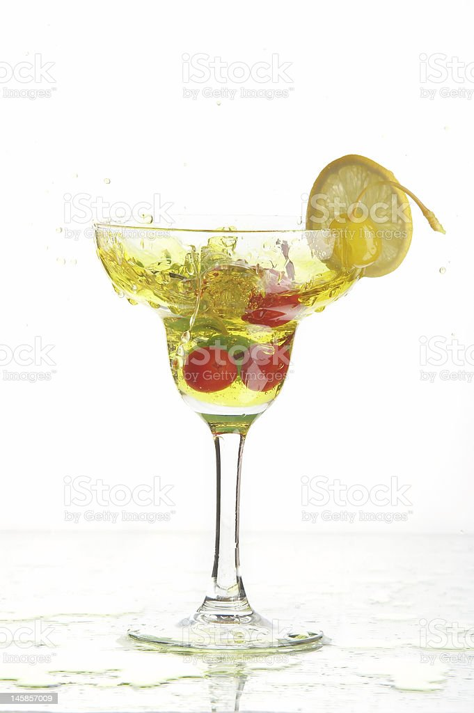 Still life with glass royalty-free stock photo