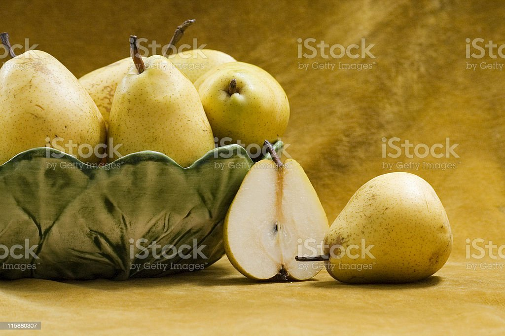 Still life with pears royalty-free stock photo