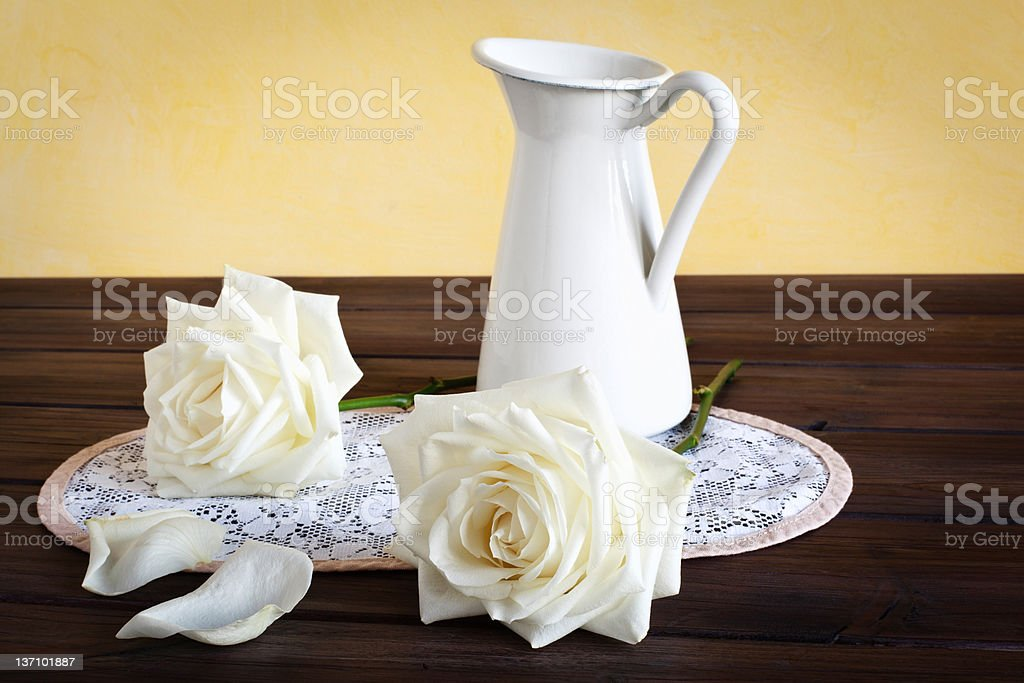 Still life with Roses royalty-free stock photo