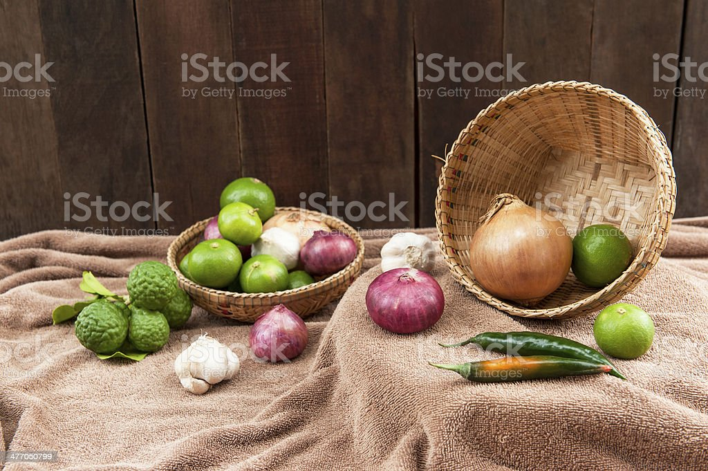 still life with Spices royalty-free stock photo