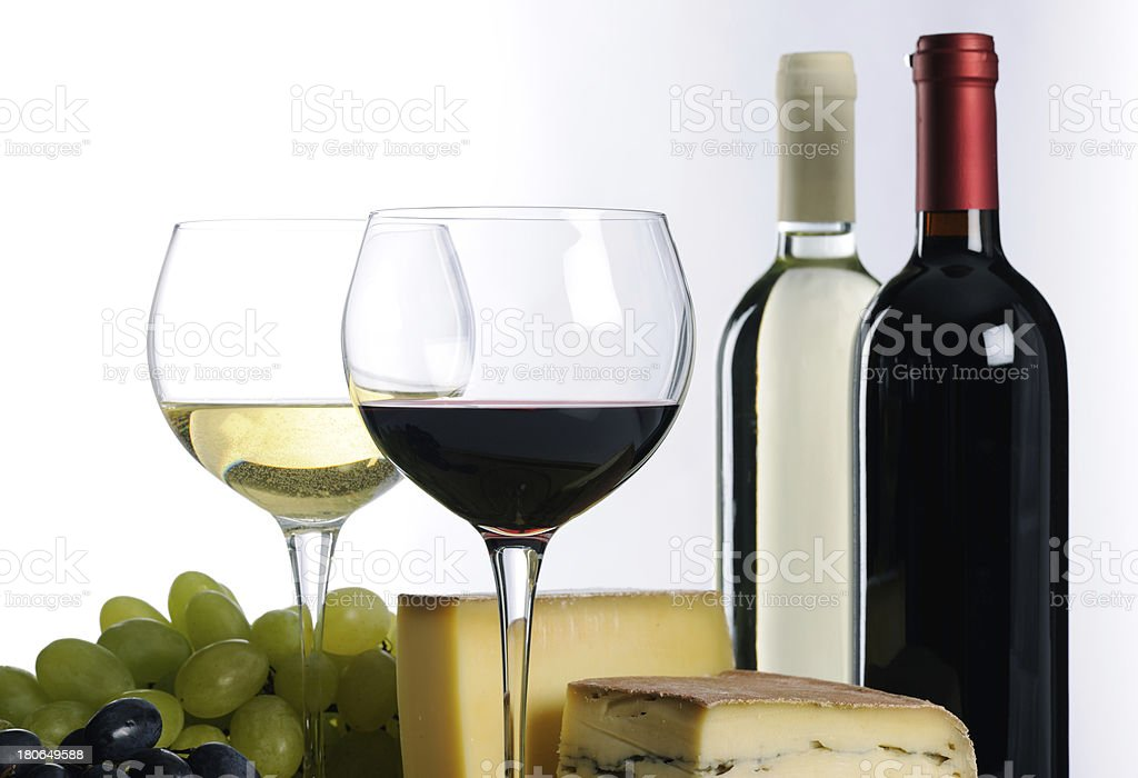 still life with wine royalty-free stock photo