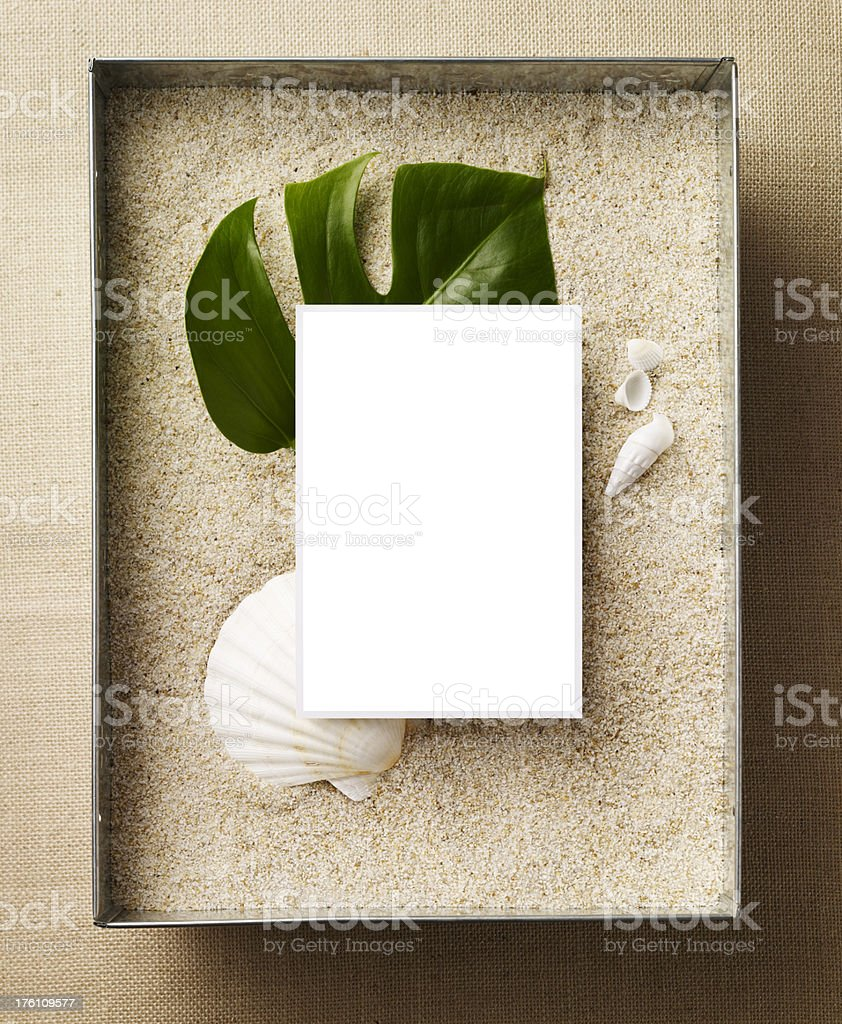 Still Life-Beach C royalty-free stock photo