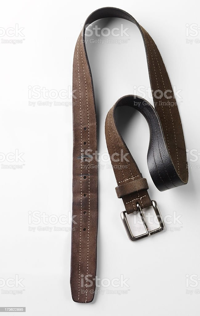 Still Life-Leather Belt stock photo