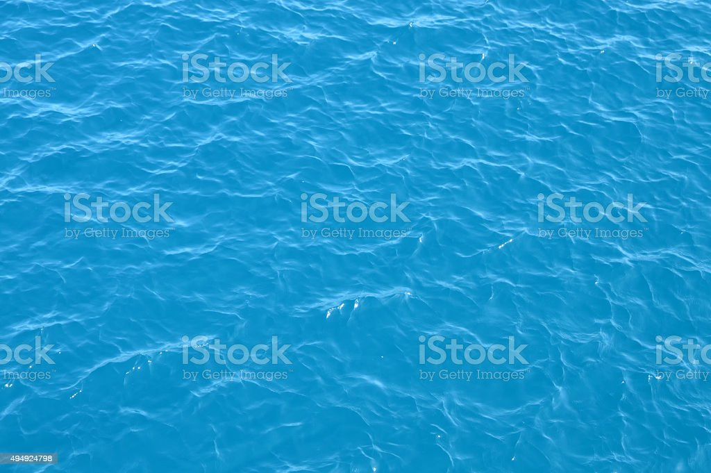 Still Sea Water Surface stock photo