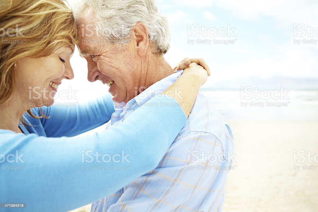 Still so in love after all these years royalty-free stock photo