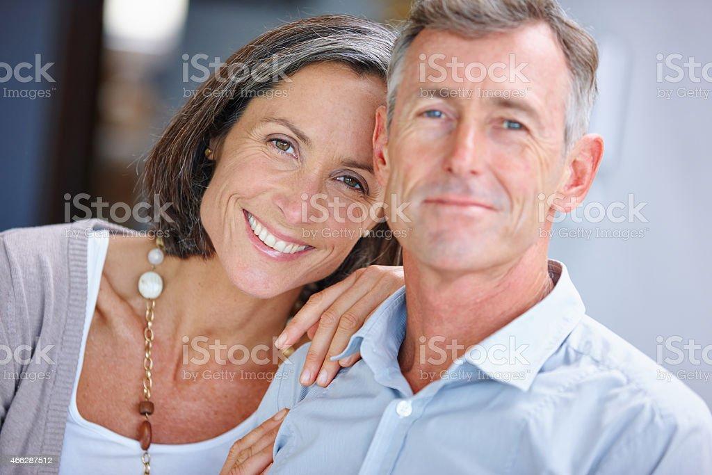 Still so in love stock photo